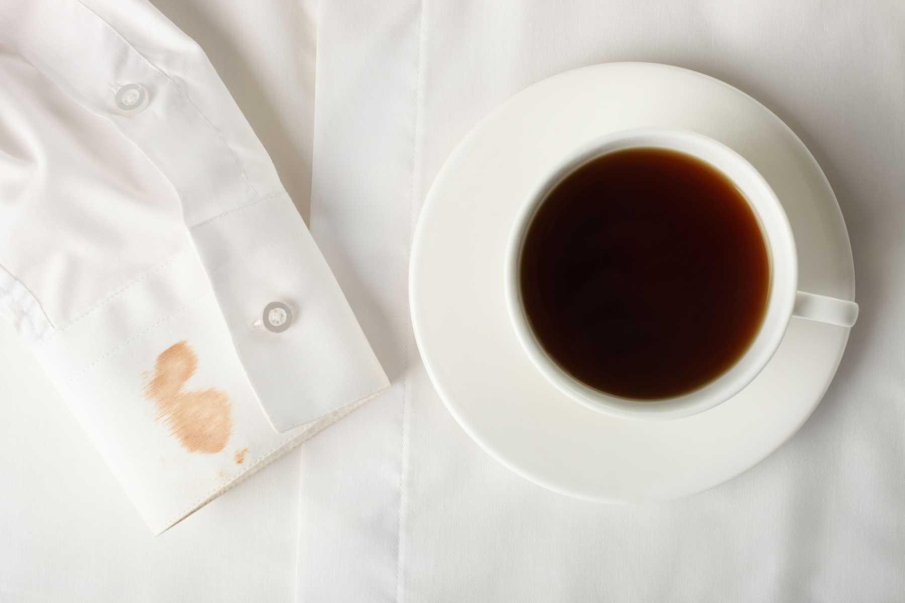 Отстирывается ли чай с белого