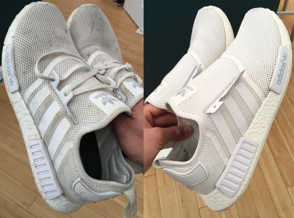 Как стирать кроссовки Adidas в стиральной машине
